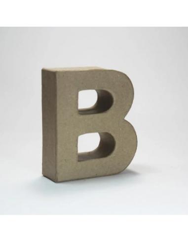 Letra de Cartón Craft Pequeña - B