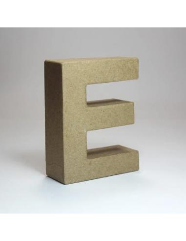 Letra de Cartón Craft Pequeña - E