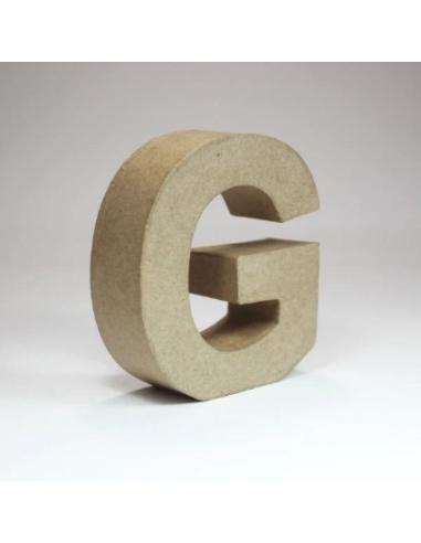 Letra de Cartón Craft Pequeña - G