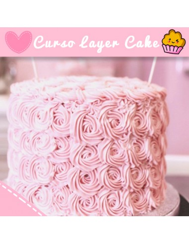 "Curso  tarta ""Layer Cake"" 16 Enero -..."