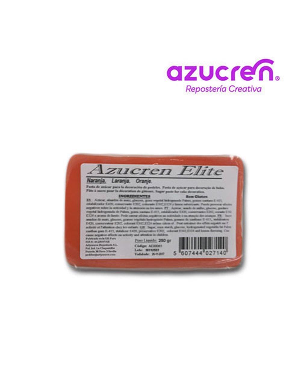 Azucren Naranja 250gr+