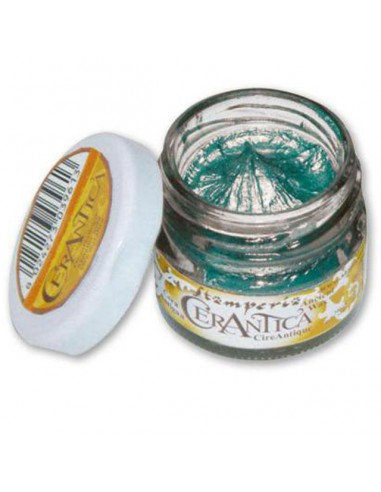 Ancient Wax Metallic Turquoise - 20 ml.