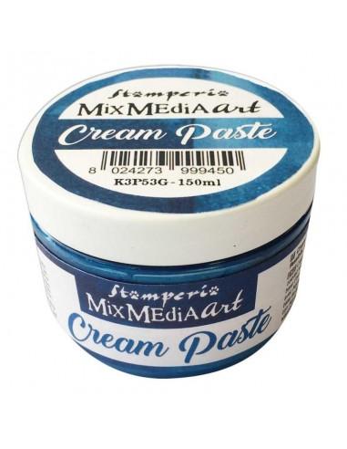 Cream Paste metallic 150ml. Blue