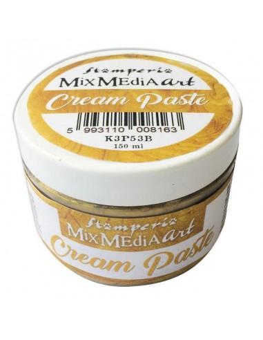 Cream Paste metallic 150ml. Gold