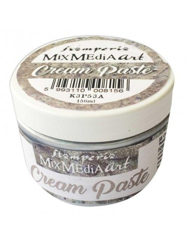 Cream Paste metallic 150ml. Silver