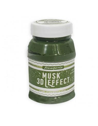 3D Musk effect 100ml. Dark green