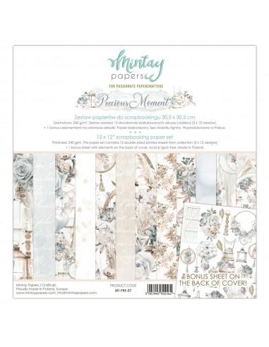 MINTAY SET PAPEL 12X12 - PRECIOUS MOMENT