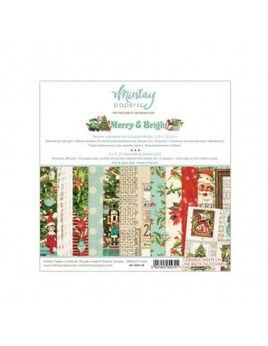 MINTAY BY KAROLA BLOC 6x6 Merry & Bright