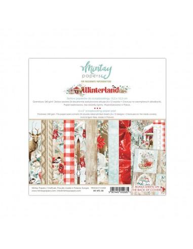 MINTAY BY KAROLA BLOC 6x6 Winterland