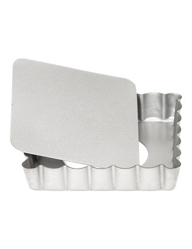 Patisse Molde Mini Quiche Cuadrado -Base desmontable- 10cm