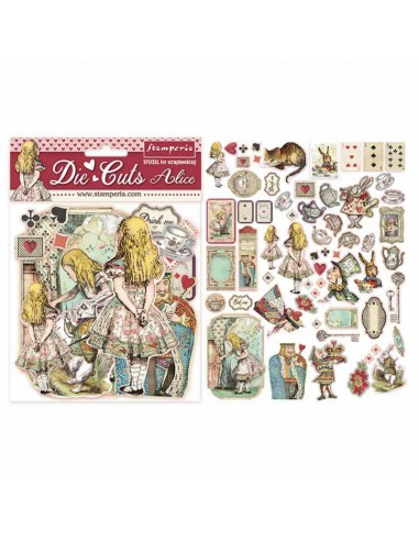 Die cuts assorted - Alice