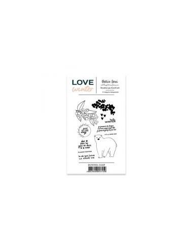 Béatrice Garni - Love Winter sello 1