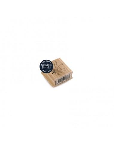 Sello de madera Mini Feuille -...