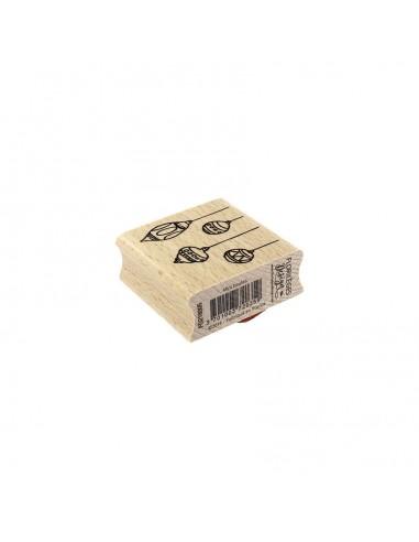 Sello de madera Mini Boules -...