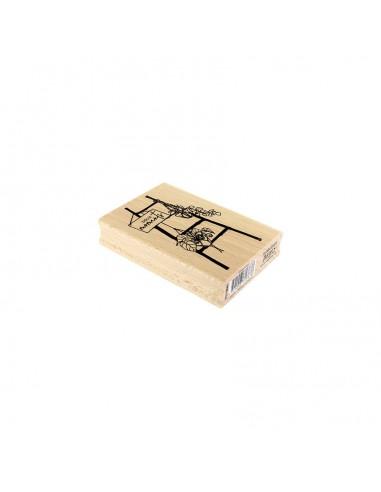 Sello de madera Échelle Déco -...