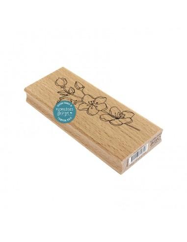 Sello de madera Branche Sakura -...