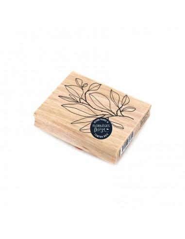 Sello de madera Feuillage Foisonnant...