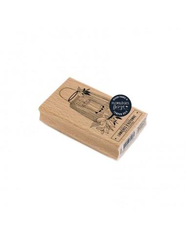 Sello de madera Lanterne Automnale -...