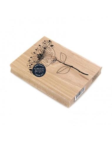 Sello de madera Ombelle Épanouie -...