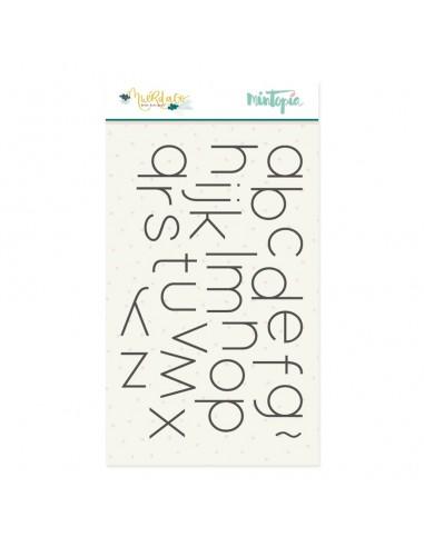 Sello alfabeto - Muérdago