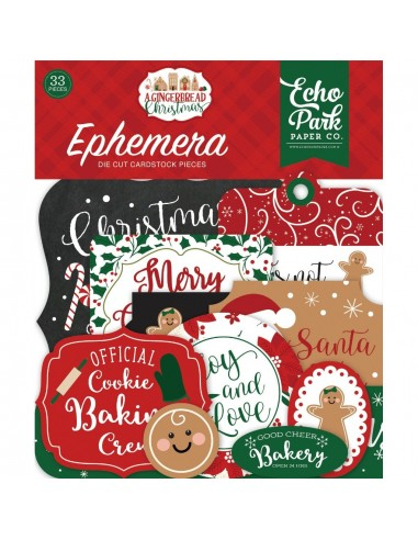 EPHEMERA A GINGERBREAD CHRISTMAS
